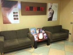 Centro di Medicina Estetica: la sala di attesa