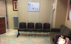 Centro di Medicina Estetica: sala d'attesa